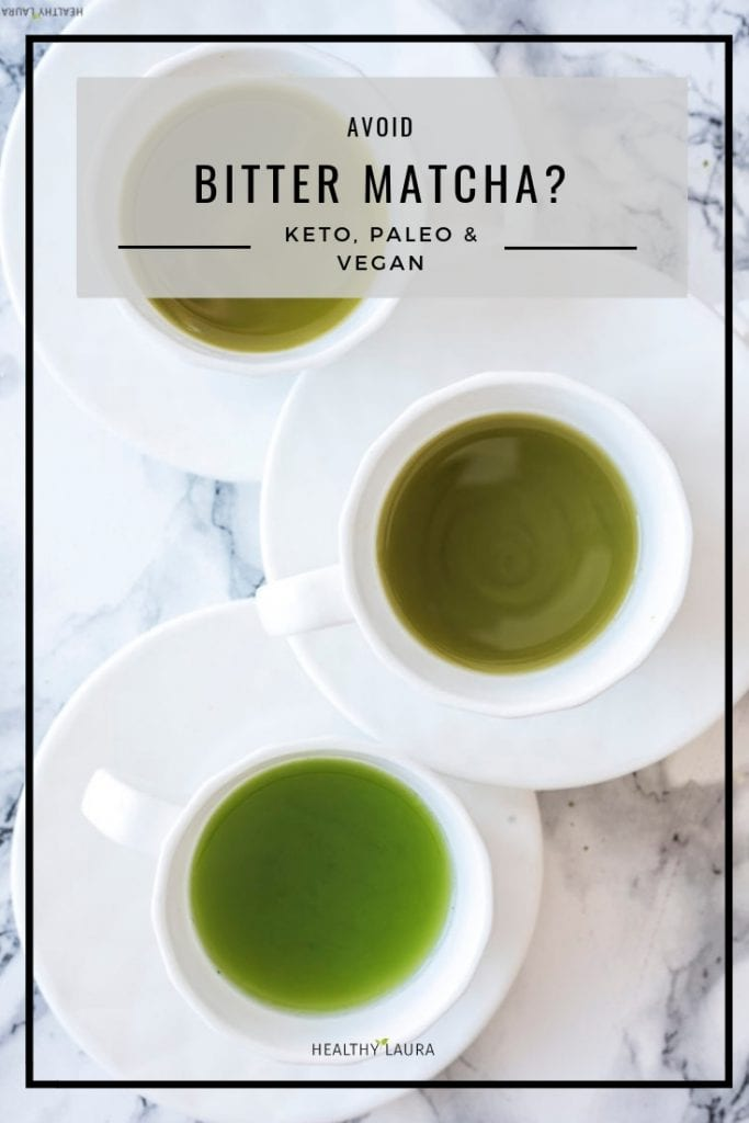 Bitter Matcha Taste by Healthy Laura Food Photography. HealthyLaura @healthylauracom coconut milk recipe, paleo iced matcha recipes, keto iced matcha recipes paleo, paleo healthy matcha recipe, Pannacotta paleo, paleo coconut matcha coconut, sugar free recipes, dairy free recipes keto, dairyfree matcha green tea, Pannacotta, yummy paleo matcha recipe, keto healthy recipes, paleo coconut milk, vegan iced matcha, how to make matcha latte that is sugar free. #paleoicedmatchalatte #ketoicedmatchalatte #veganicedmatchalatte #starbucksmatcha