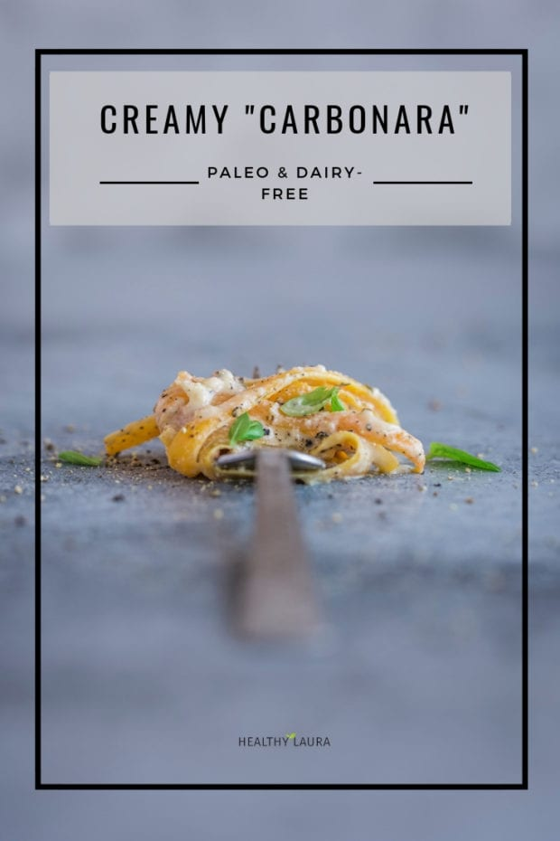 Dairy-free pumpkin pasta by Healthy Laura food photography & styling. My paleo, paleo dinner recipes, dinner recipes, butternut squash recipes, cashew sauce, paleo lunch, yummy paleo, paleo healthy recipes, butternut pumpkin, autumn, fall, paleo pumpkin and paleo pasta recipe. #paleorecipes #dairyfreerecipes