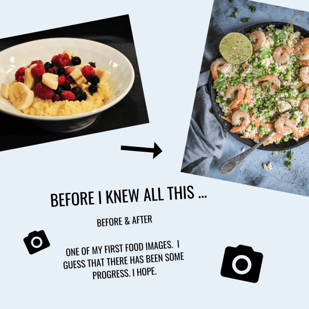 Food photography progress - 21-day challenge Food photography eBook by Healthy Laura Food Photographer