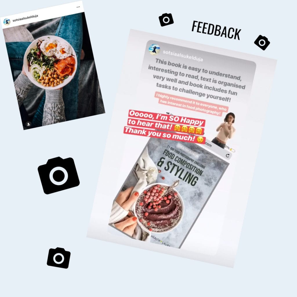 Food photography feedback - 21-day challenge Food photography eBook by Healthy Laura Food Photographer