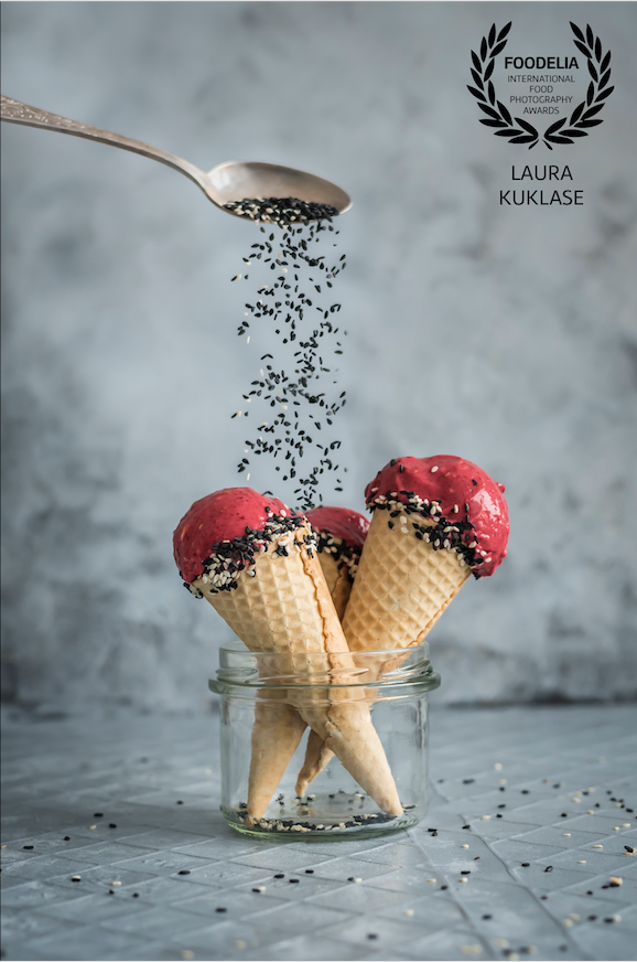 Nice Cream by Healthy Laura Food Photography & Styling & international food photography awards winner