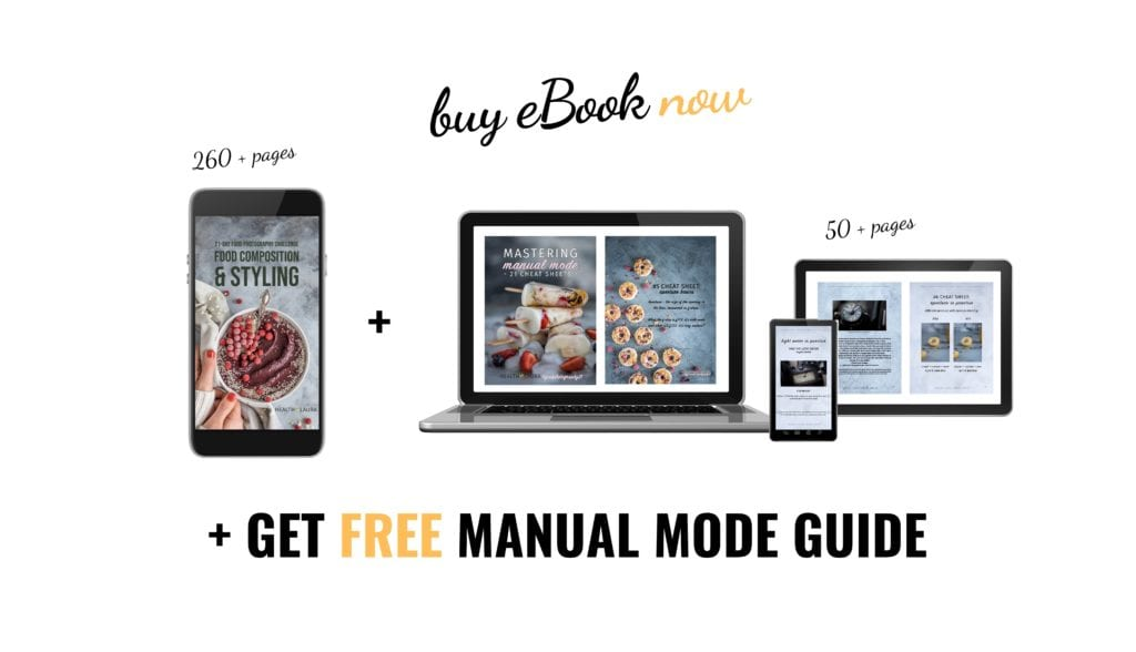 Learn manual mode by Healthy Laura Food Photography & styling