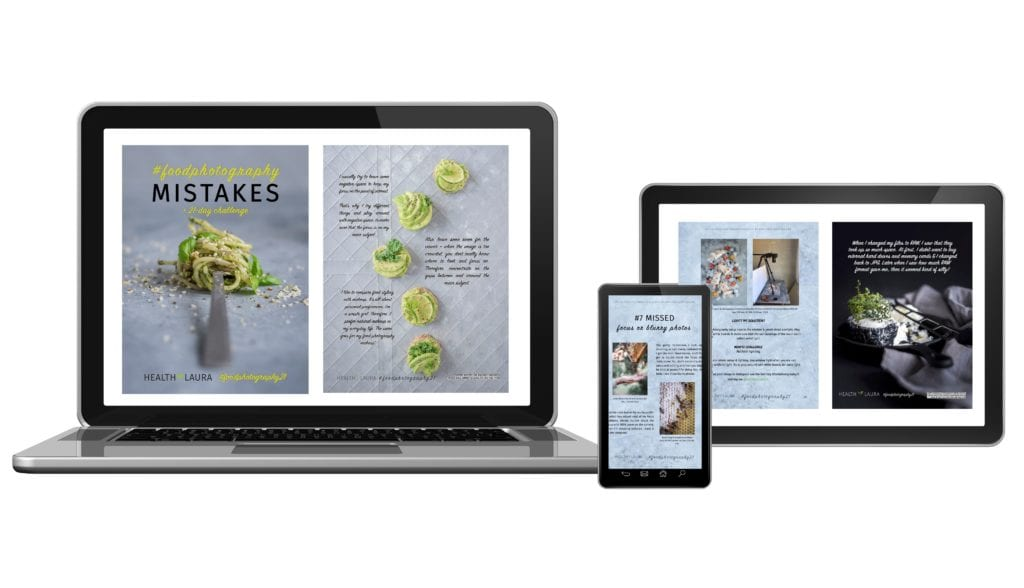 My Food Photography Mistakes eBook 2019 by Healthy Laura Food Photography & Styling @healthylauracom Laura Kuklase _ 7